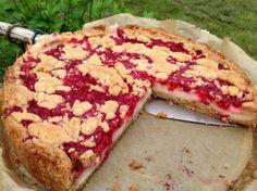 Johannisbeer- Pudding- Kuchen