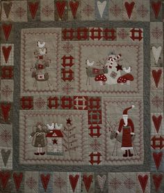 The Oz Material Girls- All your craft needs-Fabric,Patterns,FREE Tutorials: It's A Scandinavian Christmas