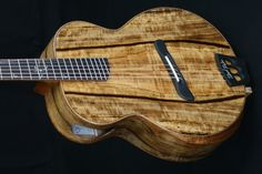 "Batson Custom / ""Tilted Palm"" Grand Concert Model Guitar"
