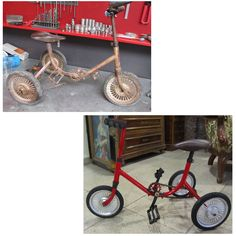 Vintage Baby Bicycle Baby Bicycle, Tricycle, Cars And Motorcycles, Vintage Cars, Classic Cars, Retro Cars