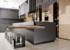 Kitchen island connection table. Rehau.com