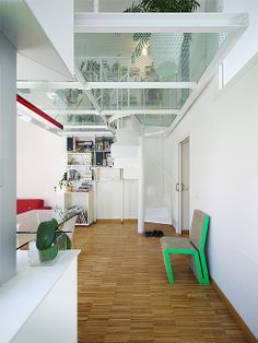 Interior design. Six Patio Houses in Toledo, Spain. By Romero Vallejo. Photo: Juan Carlos Quindós. @Romero Vallejo