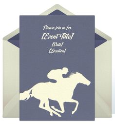 Free Belmont Stakes Invitations from Punchbowl