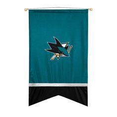 San Jose Sharks Sidelines Ribbon Style Wall Flag