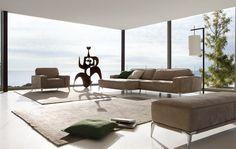Living Room Inspiration: 120 Modern Sofas by Roche Bobois (Part 3/3) | HomeDSGN