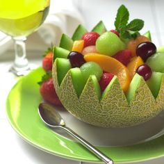 Fruit platters or Fruit salads are a great way to curb your craving for something sweet... When trying to watch your calories, a fruit salad is one of the best options to satisfy that formidable sweet tooth of yours...