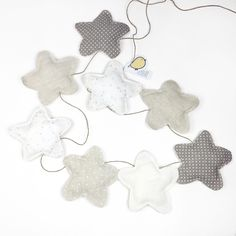 BANDEROLA STARS GREY