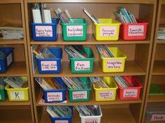 Classroom Library Ideas | Decoration