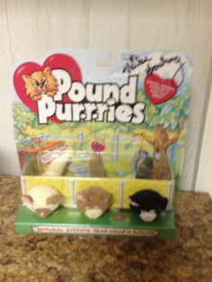 Signed Pound Purries. $10