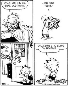 Calvin and Hobbes ..