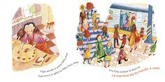 """Una lunga giornata di lavoro giunge a termine, la mamma sta tornando a casa dove, ad attenderla, ci sono il papà, tre bambini, cane, gatto e... la cena pronta! ... Ma la mamma sembra non arrivare mai...  Una nuovissima proposta di lettura per i piccoli. Una fotografia delle famiglie contemporanee resa in forma narrativa:  """"Arriva la mamma!"""", Kate Banks Books, Tomek Bogacki, Giralangolo, 2016  #lettureadaltavoce, #lettureperibimni…"""