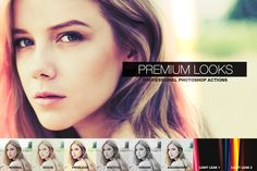 Premium Looks Photoshop Actions by pstutorialsws.deviantart.com on @deviantART