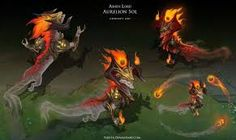 Ashen Lord Aurelion Sol by Yideth on DeviantArt Character Design, Character Art, Painting, Lol League Of Legends, Fantasy Creatures, Dragon Art, League Of Legends Characters, Creature Design, Love Art