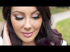 Classic Everyday Glam Makeup | Makeup Geek - YouTube