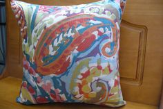 Big full pillow Andalusia size 14 in. by 14 in. by Emurs on Etsy, $25.00