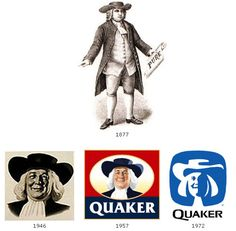 Stories Behind Famous Logos- Quaker Oats is a Timeless Classic here to stay! #YAYOATS