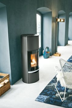 ERICA , Wood Burning Stoves by Palazzetti