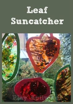 Capturing fall sunshine and colours in a suncatcher