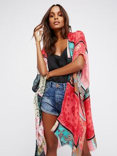 Voodoo Child Patchwork Kimono from Free People!