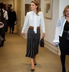 Queen Rania attended Google Zeitgeist panel in Hertfordshire