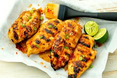 Sweet Chili-Lime Grilled Chicken Recipe