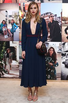 Suki Waterhouse - Burberry Celebrates Art of the Trench Middle East in Dubai - April 12, 2016