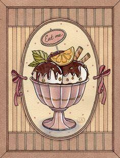 bakery by Natalia Tyulkina, via Behance