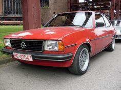 Opel Ascona B. Looks like my first car.