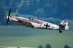 """Messerschmitt Bf 109G-4 """"rote 7 """" D-FWME"""