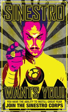 Sinestro wants you