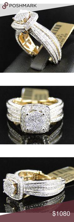 Gorgeous 2 carat 10k yellow gold diamond ring Gorgeous 2 carat 10k yellow gold diamond ring Jewelry Rings