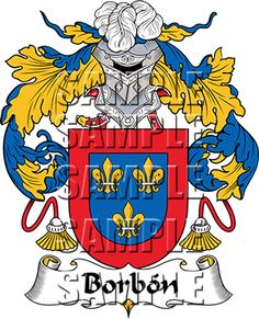 Borbon Family Crest apparel, Borbon Coat of Arms gifts
