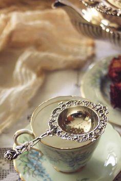 Tea Party Theme, Party Themes, Gin Joint, Cuppa Tea, Tea Strainer, Drinking Tea, Afternoon Tea, Tea Time, Tea Cups