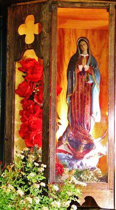 Olvera street Virgen of Guadalupe!