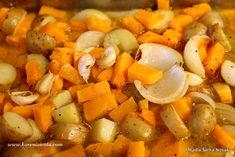 Snadná polévka z pečené máslové dýně Sweet Potato, Potatoes, Vegetables, Food, Potato, Essen, Vegetable Recipes, Meals, Yemek