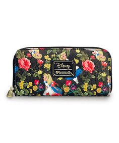 Another great find on #zulily! Alice In Wonderland Floral Wallet by Disney #zulilyfinds