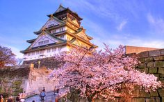 que visiter a osaka :Le Château d'Osaka