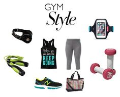 """""""Time for my workout"""" by nellysofab19 ❤ liked on Polyvore featuring The North Face, New Balance, Beats by Dr. Dre, women's clothing, women, female, woman, misses and juniors"""
