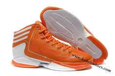 Adidas Adizero Crazy Light 2 Derrick Rose Shoes Orange White