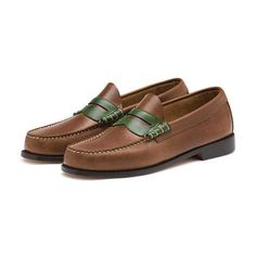 """<span style=""""color:#999999;""""><span style=""""font-size:12px; letter-spacing:.05em; line-height:150%;""""> A modern take on our hand-sewn classic penny loafer, available in a multitude of color-blocked styles the Leo Weejuns is adds a bit of fun to your wardrobe.</span>"""