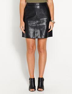 City Slick Pu Mini Skirt | Dotti