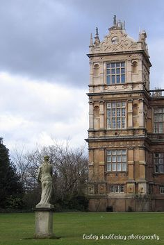 ARCHITECTURE – another great example of beautiful design. Wollaton Park Nottingham