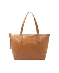 Maple and West Fossil Sydney Shopper - Camel