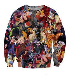 Disney Villains Crewneck Sweatshirt