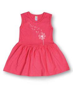 Look at this Raspberry Dandelion Sleeveless Dress - Toddler & Girls on #zulily today!