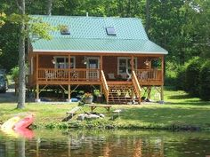 Lakefront Cabin Rental In Wood Creek Lake London