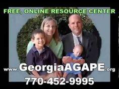 Adoption Organizations North Atlanta GA, Georgia AGAPE, 770-452-9995, Ad... https://youtu.be/UZrmR21hUBM