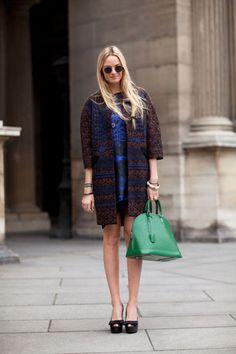Paris Fashion Week - Street Style Fall 2012