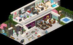 [S] Luxury Penthouse Smasheerrr familieshopcrpafbiafk - Habbo Habbo Pixel, Pixel Art, Minecraft, Chill Mood, Modern Apartment Design, Isometric Art, Luxury Penthouse, Illustration Art, Art Illustrations