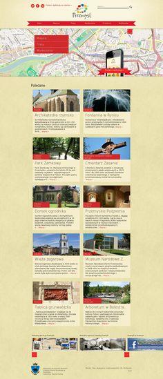 The website 'http://visit.przemysl.pl/' courtesy of @Pinstamatic (http://pinstamatic.com)